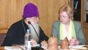 Митрополит Филарет (Вахромеев) и Ядвига Доминиковна Григорович, 2003 год